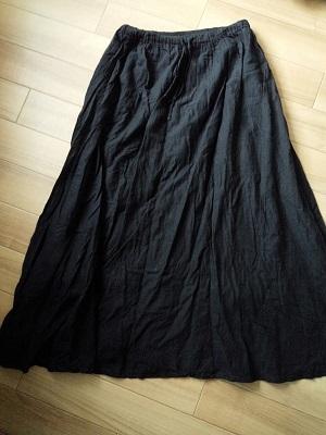 お気に入りの綿スカート