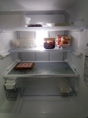 6月9日冷蔵庫中身