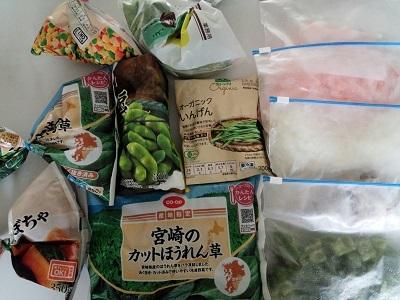 6月9日冷凍庫中身 (1)