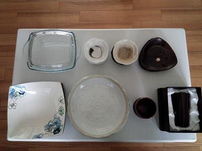 使っていない食器