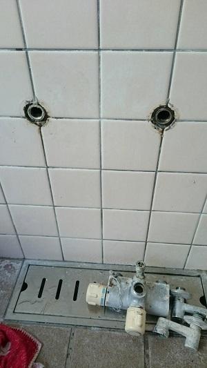 シャワー付け替え (1)