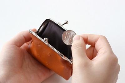 財布と百円