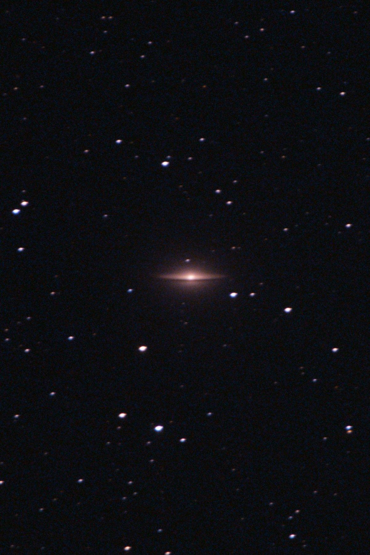 【銀河】M104 ソンブレロ銀河