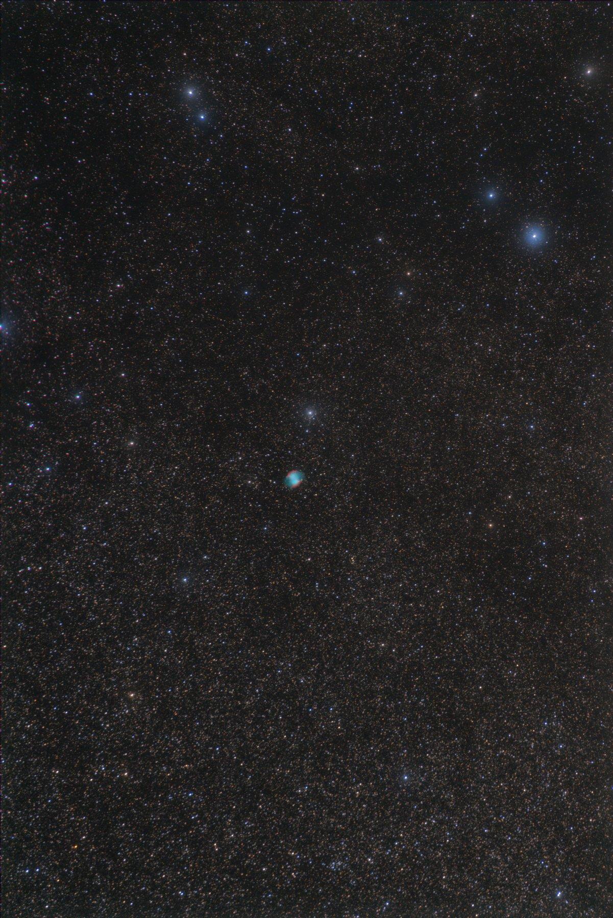 【星雲】M27 亜鈴状星雲 (・∀・)アレ?