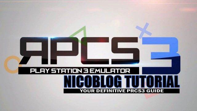 2018年版 PS3エミュレーター「RPCS3」 PC版インストール・使い方!!  動作ソフト完全は3割ほど!