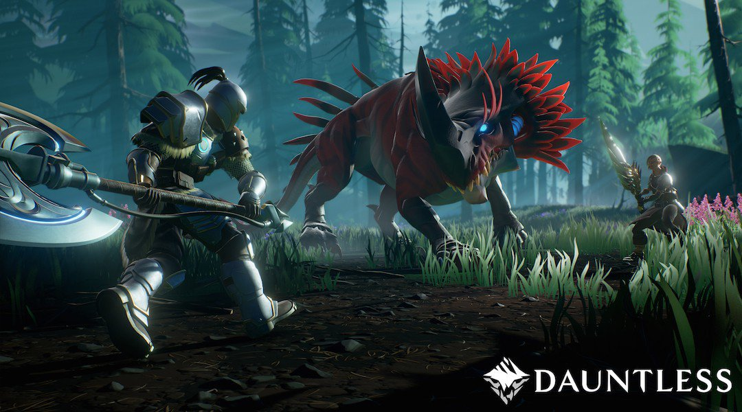 Dauntless(ドーントレス)簡単レビュー!モンハンとは違う武器・敵・攻略 無料なのに高クオリティー