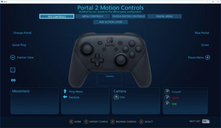 Steamが「Nintendo Switch Proコントローラー」設定に対応!PCでジャイロ対応だが不具合も・・・・