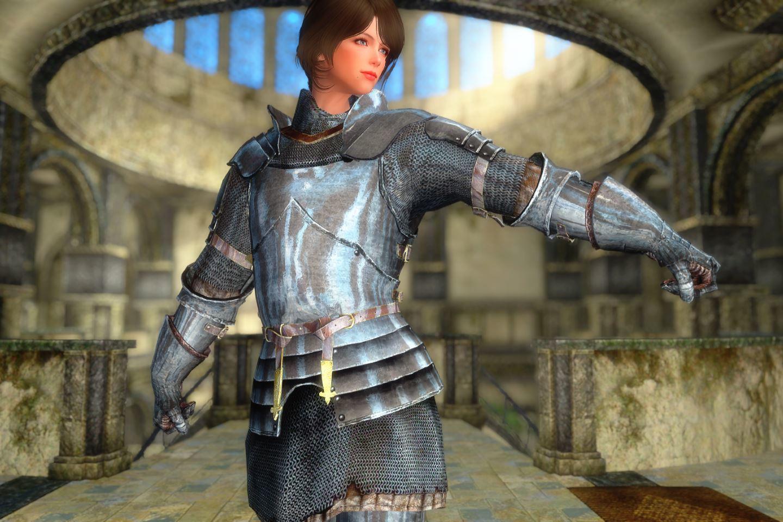 Knight Armor Mod Skyrim
