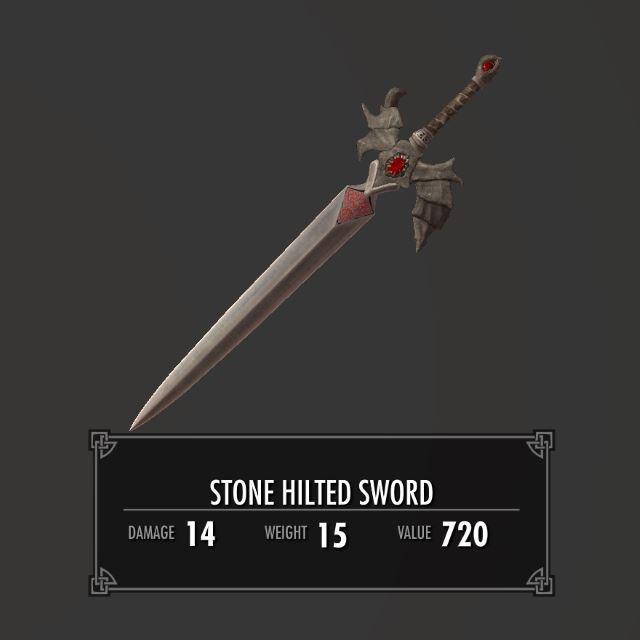 StoneHiltedSword 010-1 Info 1HS 1