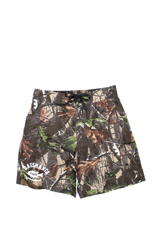 bassmania 別注 Camouflage Board Shorts1