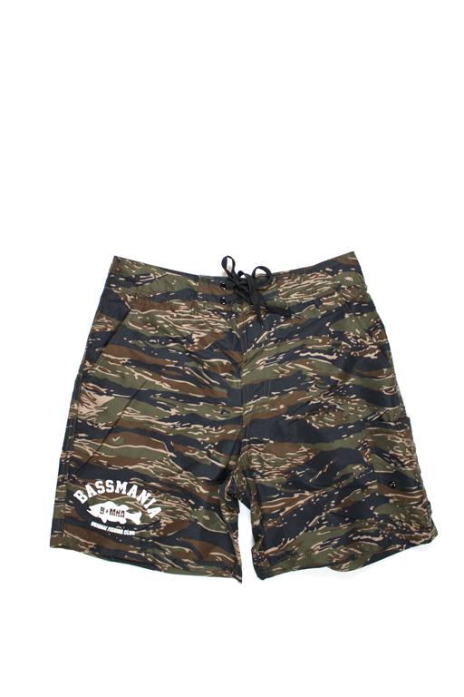 bassmania 別注 Camouflage Board Shorts7
