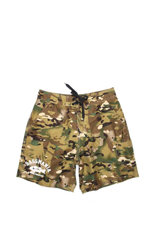 bassmania 別注 Camouflage Board Shorts13