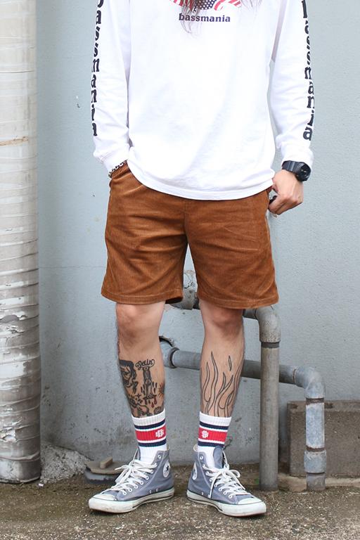 SLINK Corduroy Shorts1