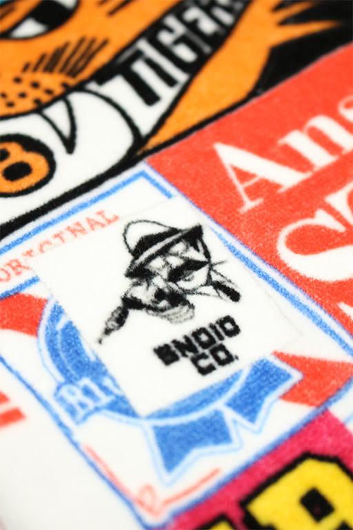 SNOID Travel Decal big towel5