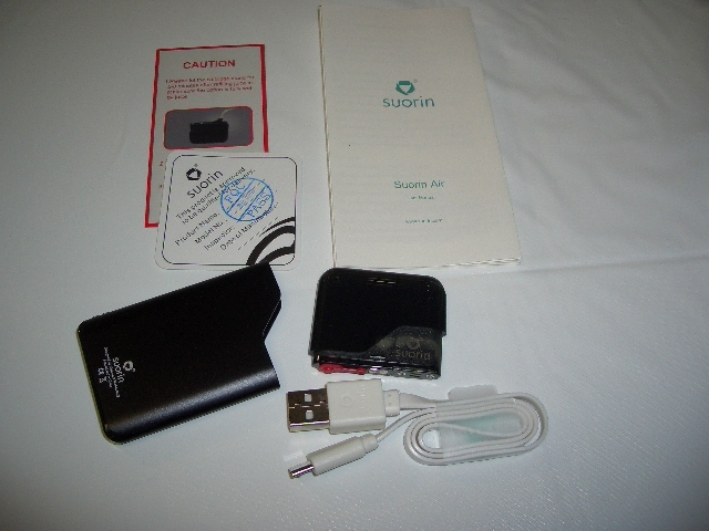 3 Suorin Air Starter Kit 400mAh(内容物)