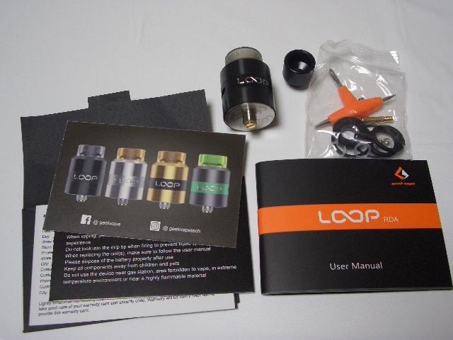 2 Geekvape Loop RDA(内容物)