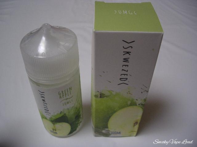 2 Skwezed E-liquid - GreenApple