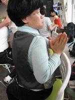 椅子ヨガ ポーズ3