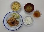 豚の生姜焼き 1