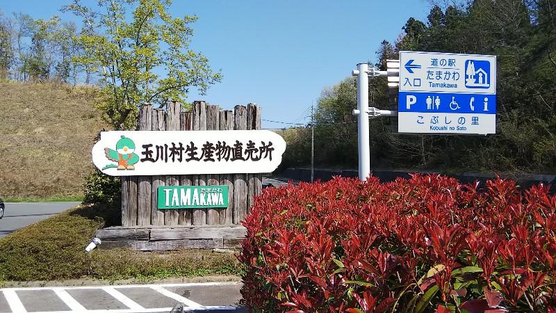 道の駅たまかわ1804