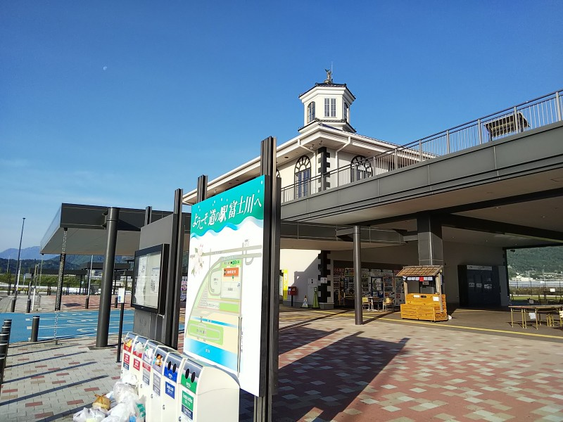 道の駅富士川180506