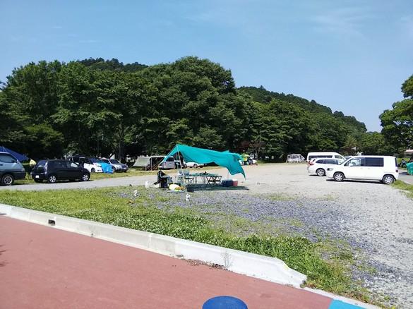 道の駅かつらキャンプ場2018