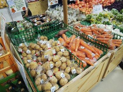 道の駅アルプス安曇野ほりがねの里野菜1806