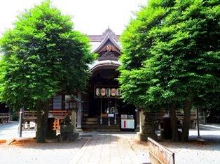 御嶽神社(大田区北嶺町)