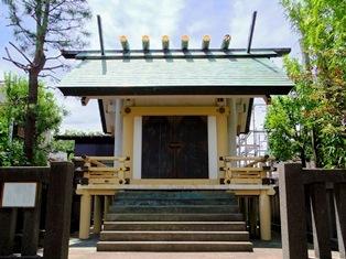 天祖神社(大田区西嶺町)