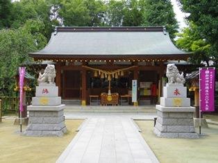 新田神社(大田区矢口)