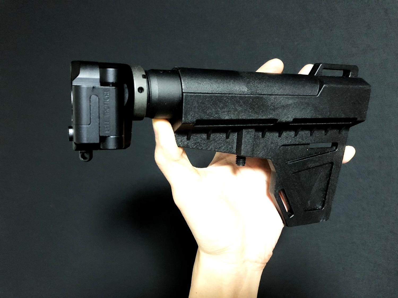 13 次世代 M4 CQB-R 電動ガン 実物 KAK ストック 取付 改造 カスタム 大作戦 第四弾!! 重大トラブル発生!! バッファーチューブ ネジ について考える & 加工道具 選定 購入 レビュー