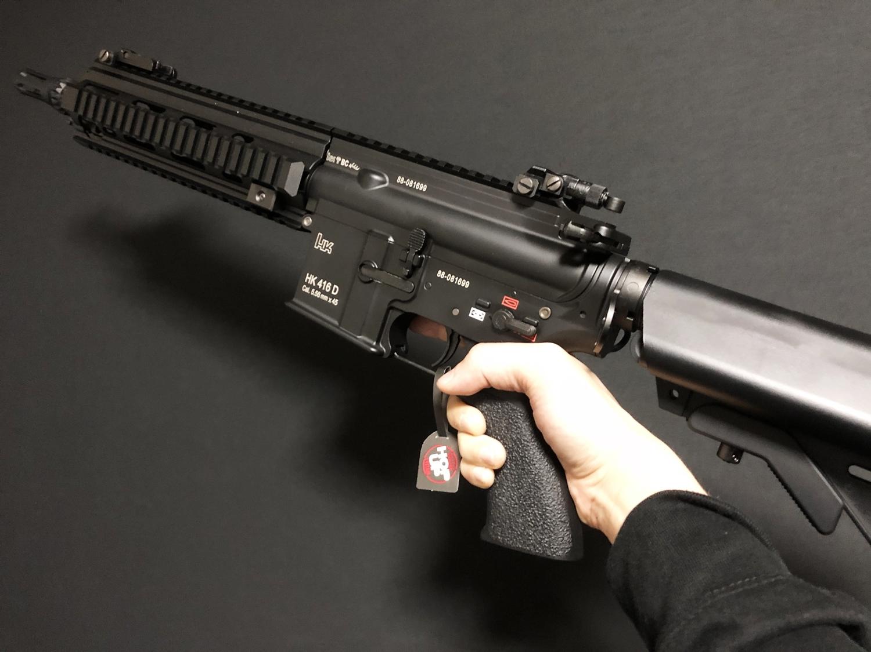 4 東京マルイ 次世代電動ガン HK416D DEVGRU デブグル アメリカ海軍特殊部隊 DEVGRU Seal Team6 新品 箱出し カスタム お勧めパーツ 取付 レビュー
