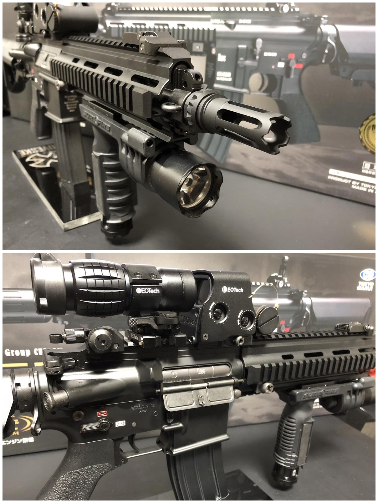 18 東京マルイ 次世代電動ガン HK416D DEVGRU デブグル アメリカ海軍特殊部隊 DEVGRU Seal Team6 新品 箱出し カスタム お勧めパーツ 取付 レビュー