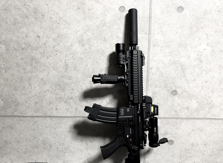 24 東京マルイ 次世代電動ガン HK416D DEVGRU デブグル アメリカ海軍特殊部隊 DEVGRU Seal Team6 新品 箱出し カスタム お勧めパーツ 取付 レビュー