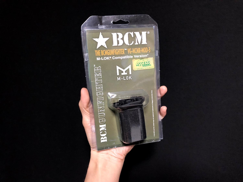 0 実物 BCM GUNFIGHTER VERTICAL GRIP MOD3 M-LOK Compatible ガンファイター バーティカル グリップ 実物 & レプリカ 違い 検証 取付 交換 正規品 新品 開封 カスタム レビュー