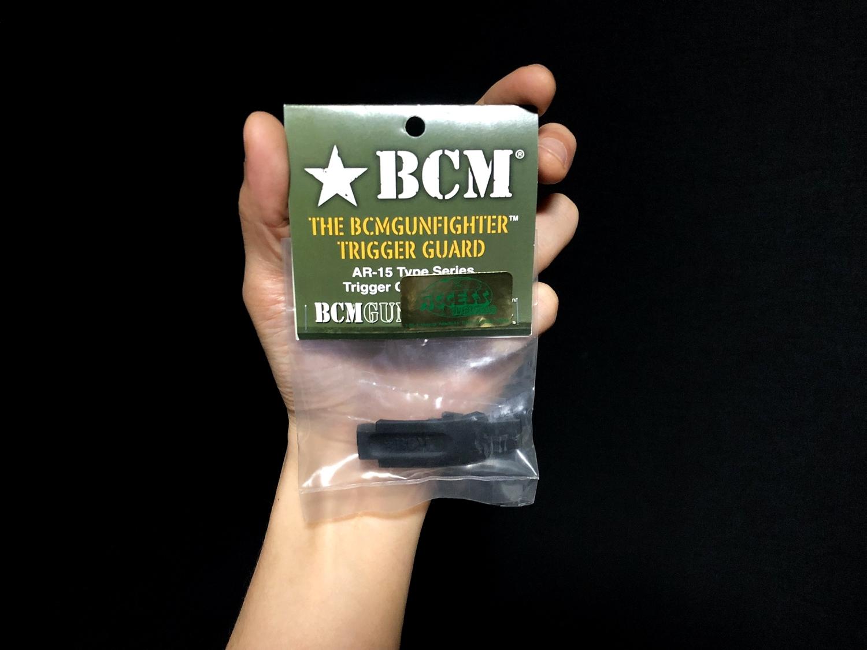 0 実物 BCM GUNFIGHTER TRIGGR GUARD MOD 0 ガンファイタートリガーガード 次世代電動ガンに実物トリガーガードを取付けてやる!! 開封 3Dプリント DIY 加工 交換 取付 正規品 新品 カスタム レビュー