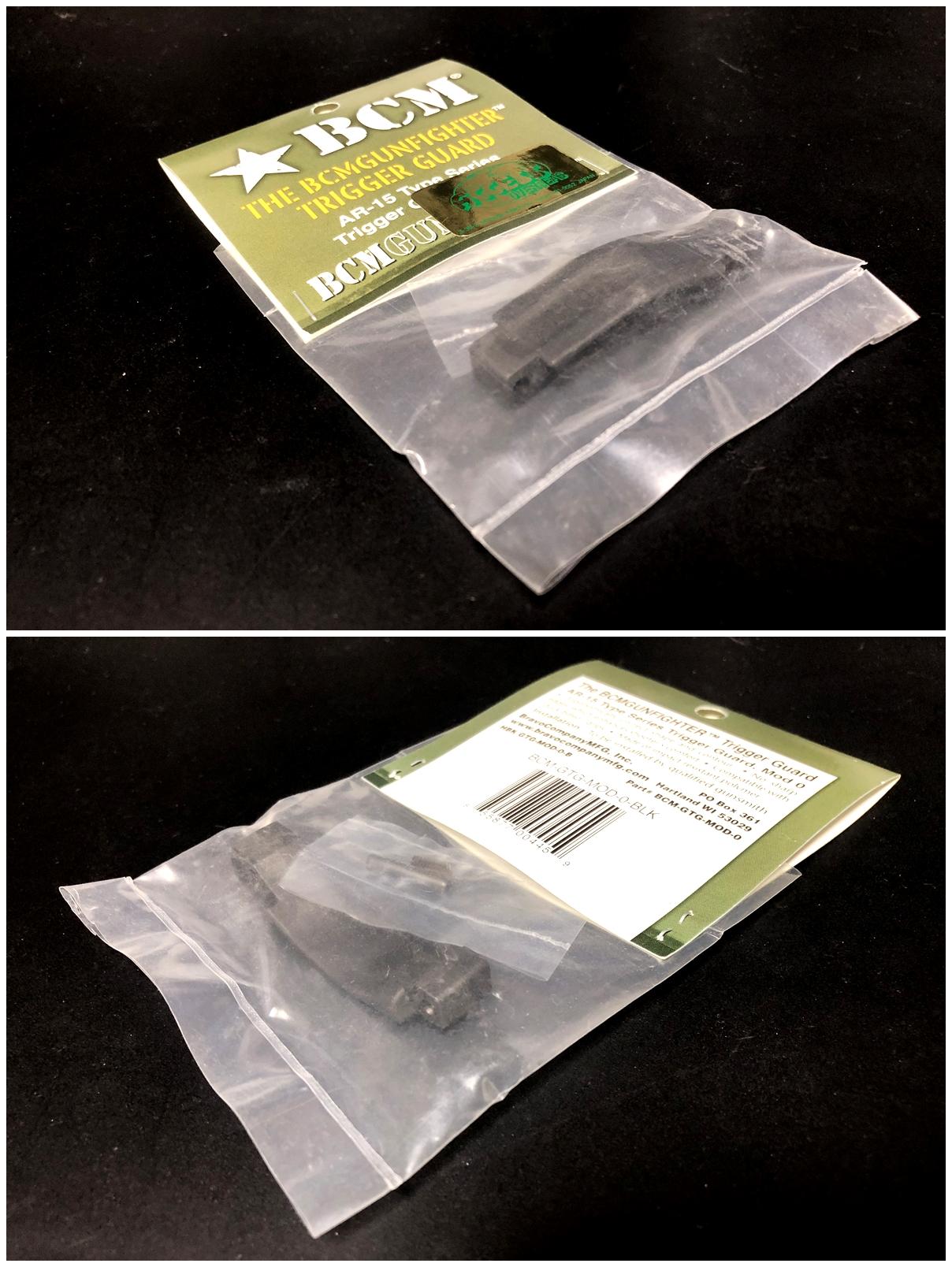 1 実物 BCM GUNFIGHTER TRIGGR GUARD MOD 0 ガンファイタートリガーガード 次世代電動ガンに実物トリガーガードを取付けてやる!! 開封 3Dプリント DIY 加工 交換 取付 正規品 新品 カスタム レビュー