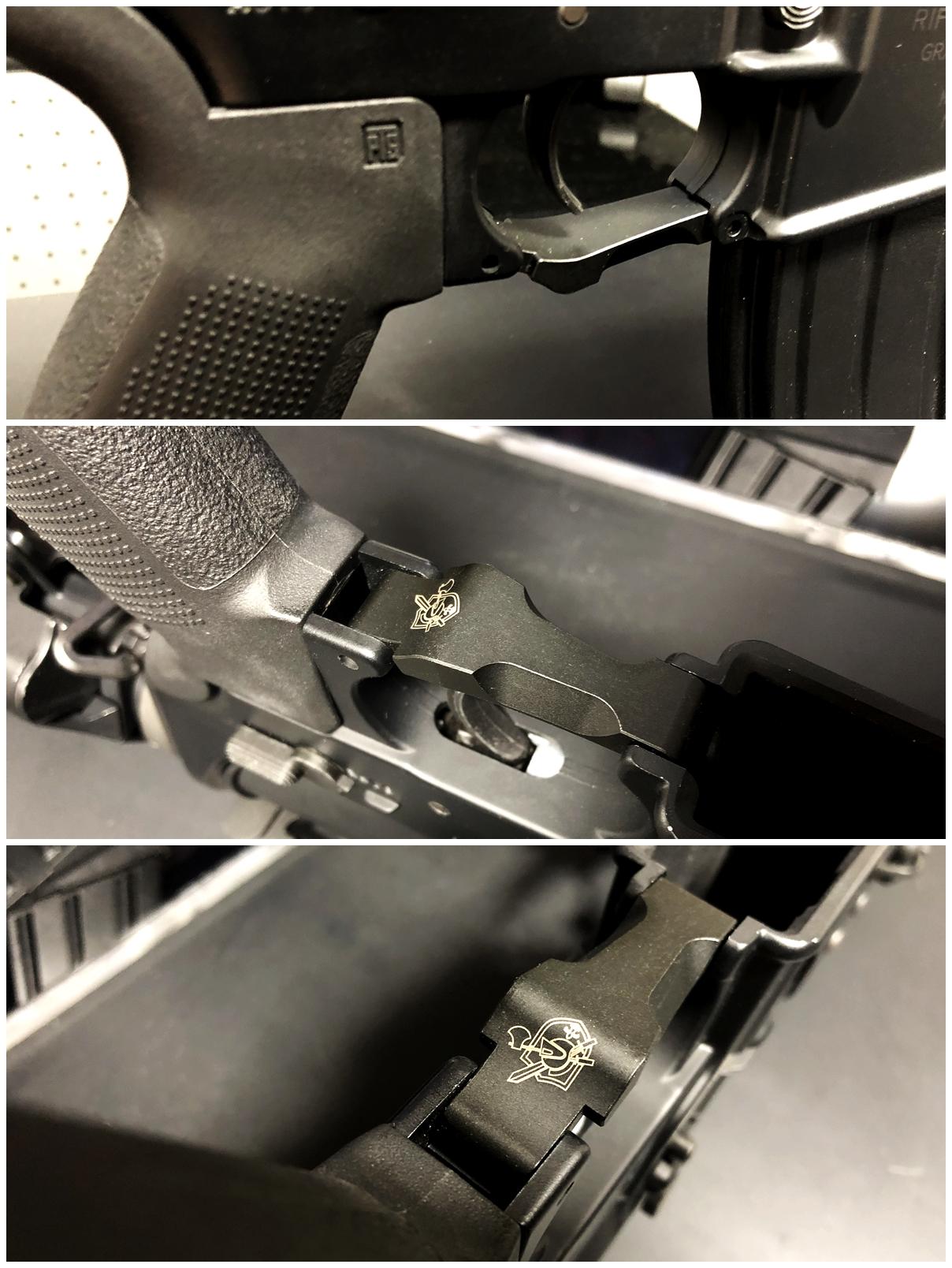 6 実物 BCM GUNFIGHTER TRIGGR GUARD MOD 0 ガンファイタートリガーガード 次世代電動ガンに実物トリガーガードを取付けてやる!! 開封 3Dプリント DIY 加工 交換 取付 正規品 新品 カスタム レビュー