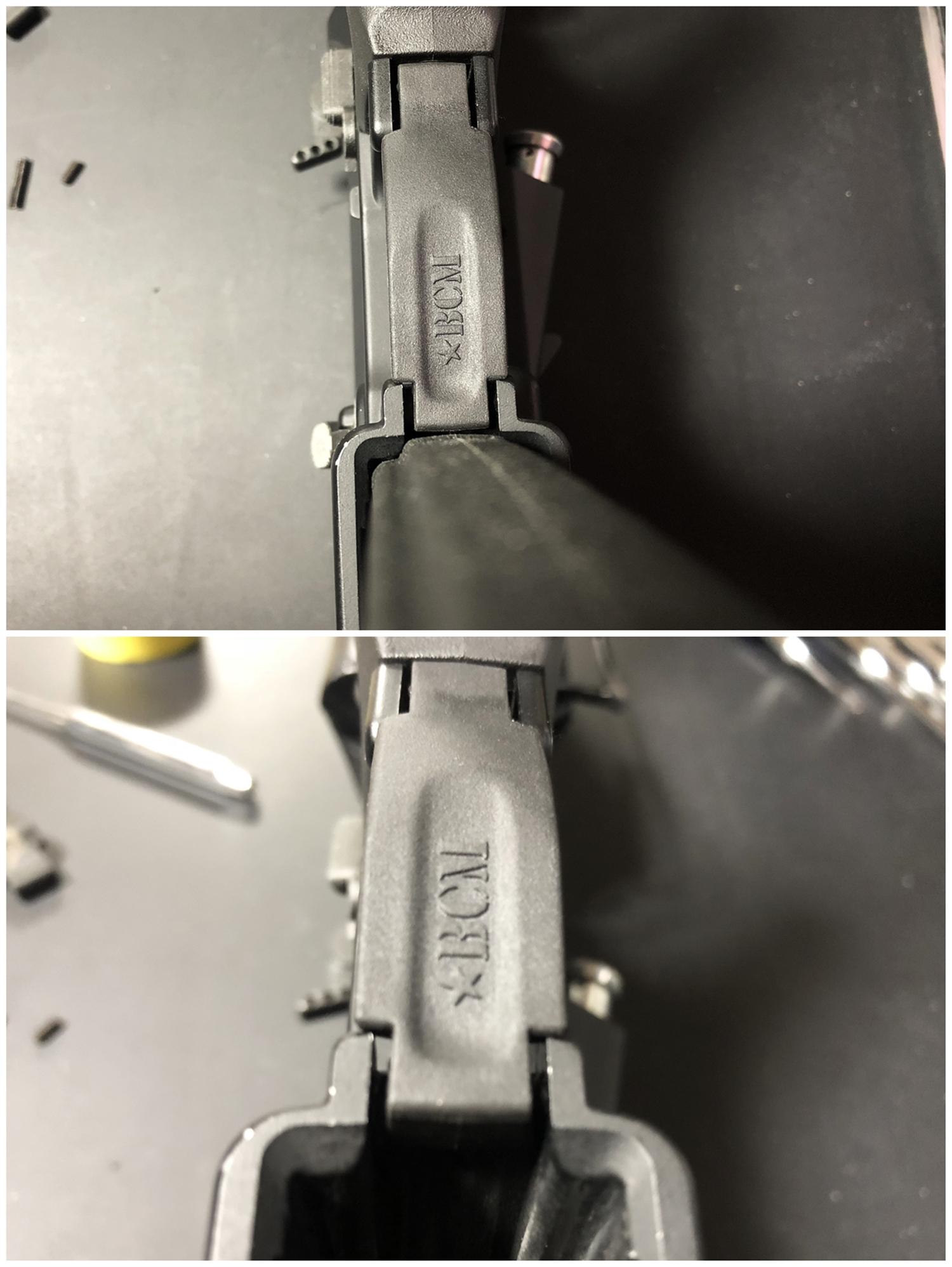 9 実物 BCM GUNFIGHTER TRIGGR GUARD MOD 0 ガンファイタートリガーガード 次世代電動ガンに実物トリガーガードを取付けてやる!! 開封 3Dプリント DIY 加工 交換 取付 正規品 新品 カスタム レビュー