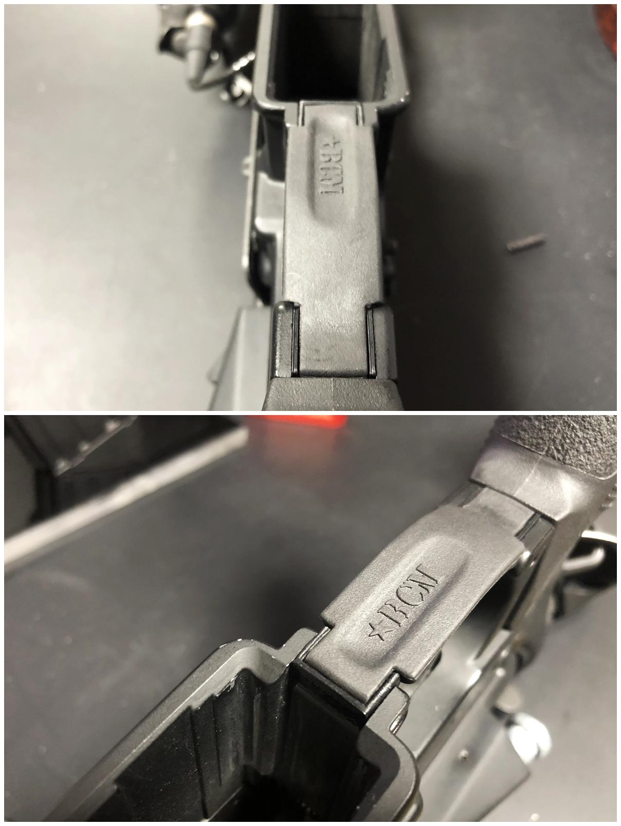 16 実物 BCM GUNFIGHTER TRIGGR GUARD MOD 0 ガンファイタートリガーガード 次世代電動ガンに実物トリガーガードを取付けてやる!! 開封 3Dプリント DIY 加工 交換 取付 正規品 新品 カスタム レビュー