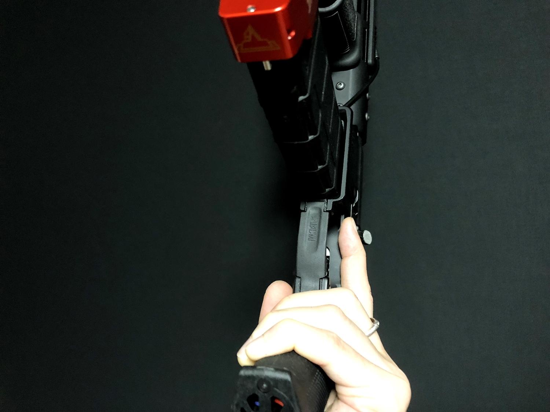 19 実物 BCM GUNFIGHTER TRIGGR GUARD MOD 0 ガンファイタートリガーガード 次世代電動ガンに実物トリガーガードを取付けてやる!! 開封 3Dプリント DIY 加工 交換 取付 正規品 新品 カスタム レビュー