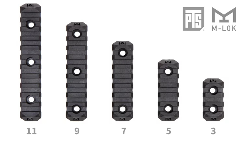 7-1 SUREFIRE M952V TYPE & HALEY STRATEGIC TYPE PICATINNY LIGHT MOUNT & M-LOK MAGPUL PTS Enhanced Rail Section ERS 3 オフセット セッティング カスタム 購入 開封 取付 分解 実物 レプリカ 比較 レビュー