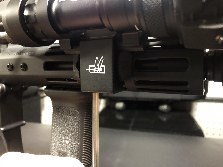 16 SUREFIRE M952V TYPE & HALEY STRATEGIC TYPE PICATINNY LIGHT MOUNT & M-LOK MAGPUL PTS Enhanced Rail Section ERS 3 オフセット セッティング カスタム 購入 開封 取付 分解 実物 レプリカ 比較 レビュー