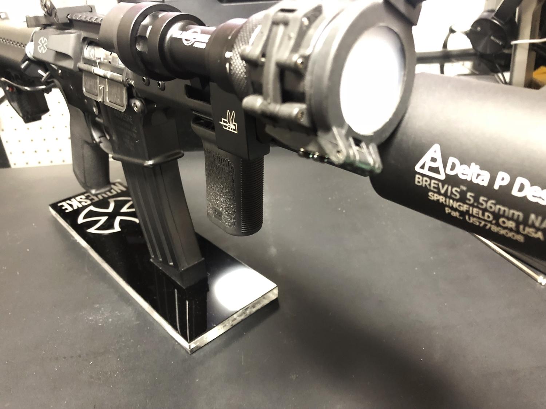 17 SUREFIRE M952V TYPE & HALEY STRATEGIC TYPE PICATINNY LIGHT MOUNT & M-LOK MAGPUL PTS Enhanced Rail Section ERS 3 オフセット セッティング カスタム 購入 開封 取付 分解 実物 レプリカ 比較 レビュー