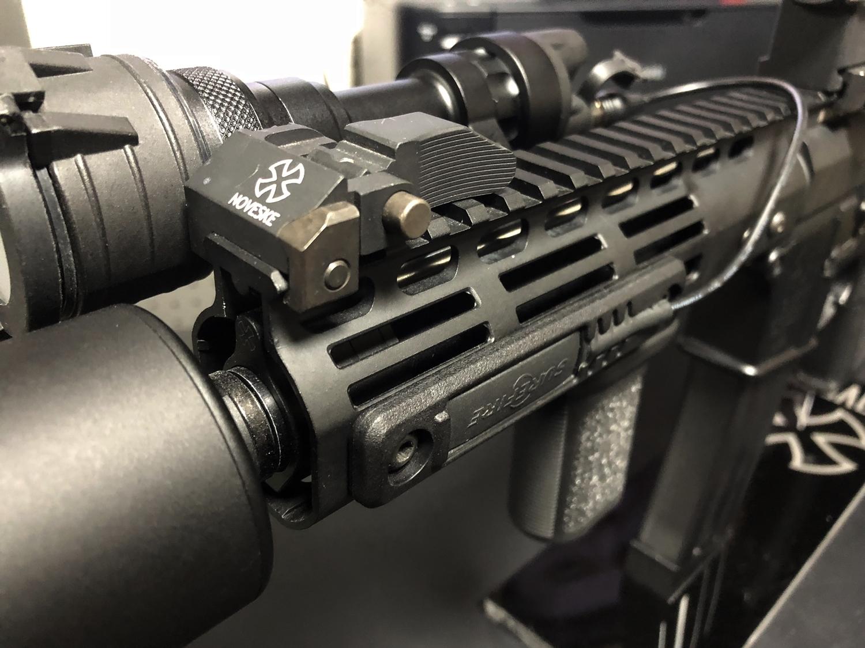 18 SUREFIRE M952V TYPE & HALEY STRATEGIC TYPE PICATINNY LIGHT MOUNT & M-LOK MAGPUL PTS Enhanced Rail Section ERS 3 オフセット セッティング カスタム 購入 開封 取付 分解 実物 レプリカ 比較 レビュー