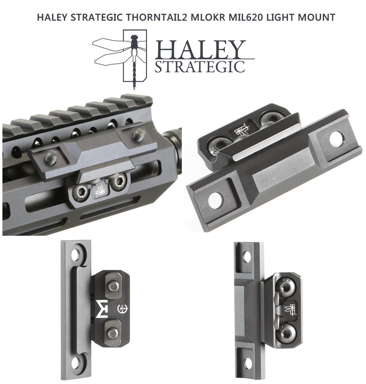 21 SUREFIRE M952V TYPE & HALEY STRATEGIC TYPE PICATINNY LIGHT MOUNT & M-LOK MAGPUL PTS Enhanced Rail Section ERS 3 オフセット セッティング カスタム 購入 開封 取付 分解 実物 レプリカ 比較 レビュー