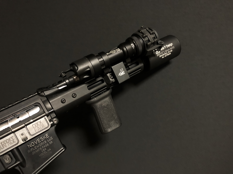 22 SUREFIRE M952V TYPE & HALEY STRATEGIC TYPE PICATINNY LIGHT MOUNT & M-LOK MAGPUL PTS Enhanced Rail Section ERS 3 オフセット セッティング カスタム 購入 開封 取付 分解 実物 レプリカ 比較 レビュー