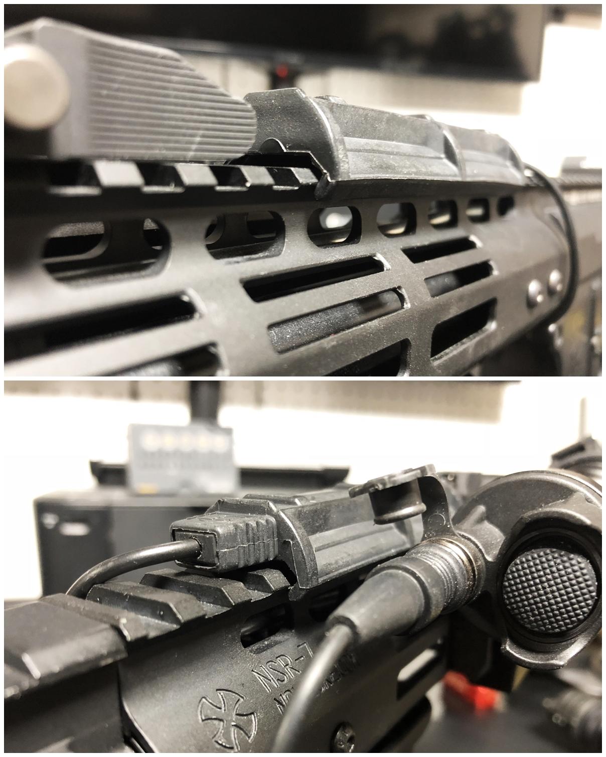 11 SUREFIRE TYPE REMOTE DUAL SWITCH 7 SR07 M720V シュアファイア M952V リモートデュアルスイッチ カスタム 購入 開封 取付 実物 レプリカ 比較 レビュー