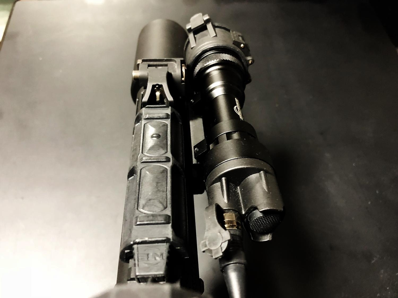 12 SUREFIRE TYPE REMOTE DUAL SWITCH 7 SR07 M720V シュアファイア M952V リモートデュアルスイッチ カスタム 購入 開封 取付 実物 レプリカ 比較 レビュー