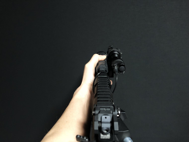 16 SUREFIRE TYPE REMOTE DUAL SWITCH 7 SR07 M720V シュアファイア M952V リモートデュアルスイッチ カスタム 購入 開封 取付 実物 レプリカ 比較 レビュー